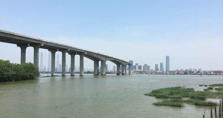 View toward Xinzhou